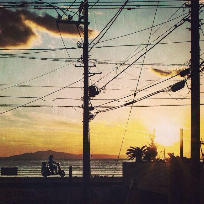 Sunset Streetphotography Beach Way