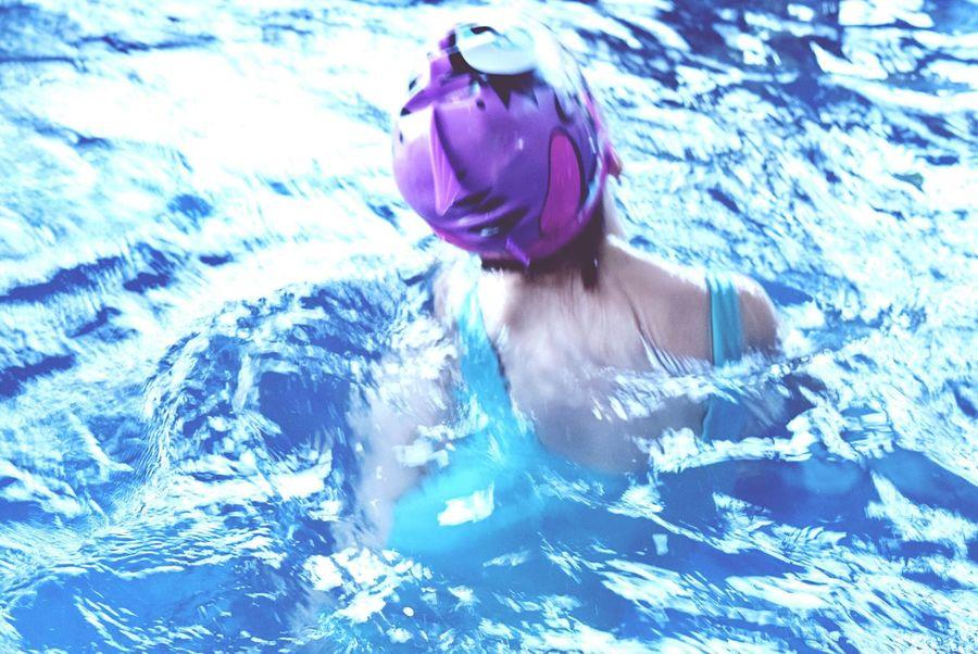 Water Game - Water Shoot Blue Water Pool Jacuzzi  Swim Swimming Best EyeEm Shot