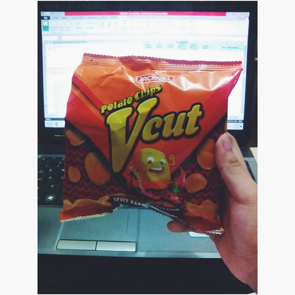 Midnight snack while watching SMB Starmagicball and doing paperworks Vscocam Vcut