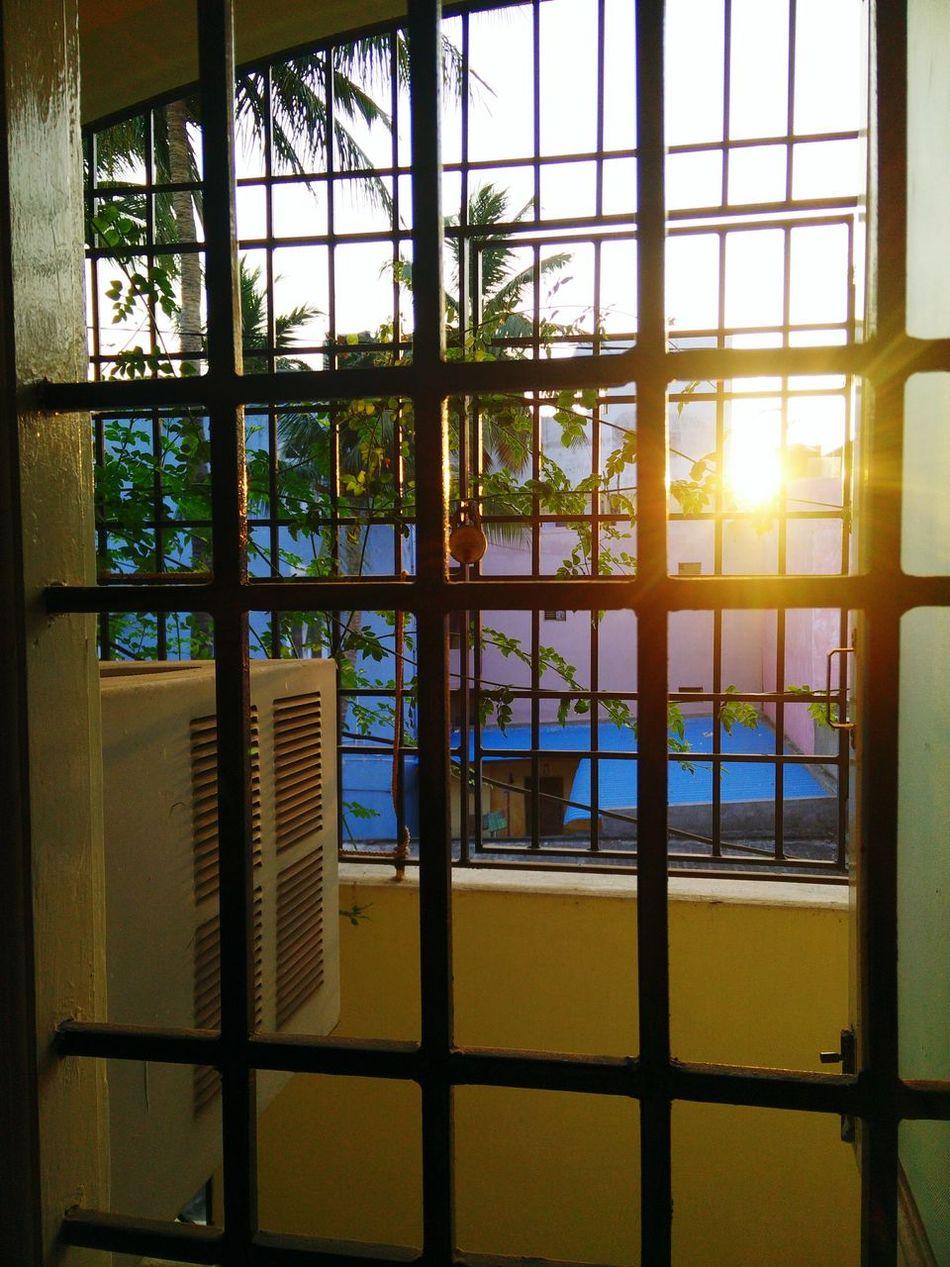 Balcony Setting Sun