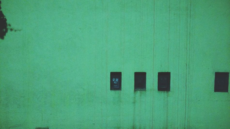 Wall. · Hamburg Germany Hh 040 Green Concrete Stuff Minimalism Minimalobsession Simplicity Simple Photography