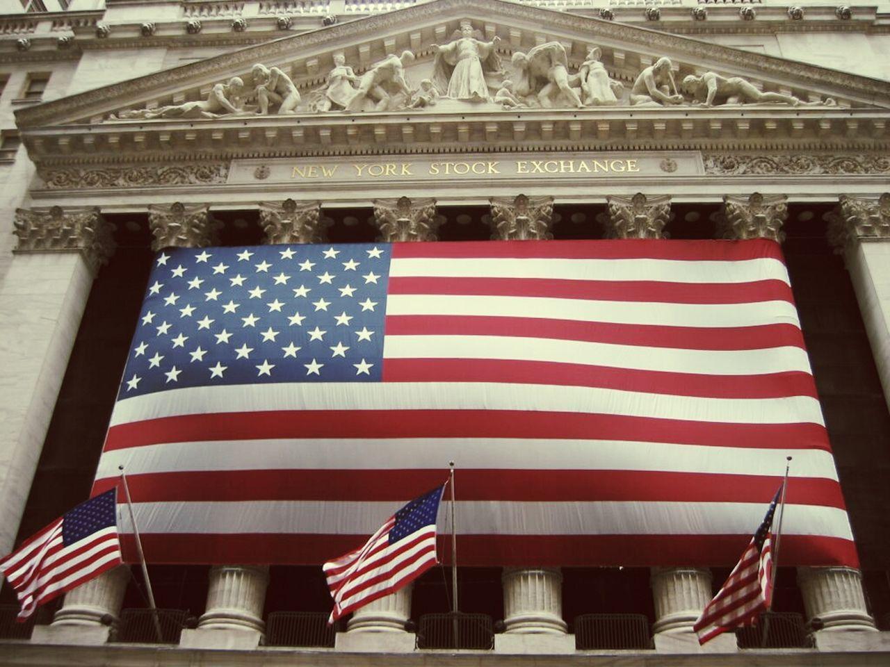 New York Stock Exchange Patriotism USA