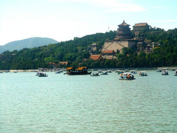 In Beijing Beijing Pekin ASIA In China Traveling China Lake View Lake