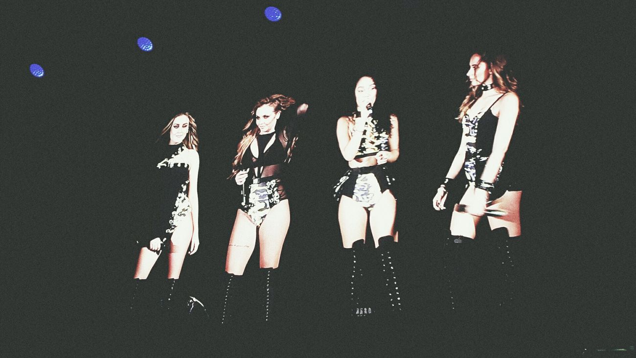 Little Mix on stage in Munich 31/05/17 Jesy Nelson Leigh-Anne Pinnock Jade Thirlwall Perrie Edwards Little Mix  Olympiahalle Musician Concert Music Performance Munich, Germany Concert Photography