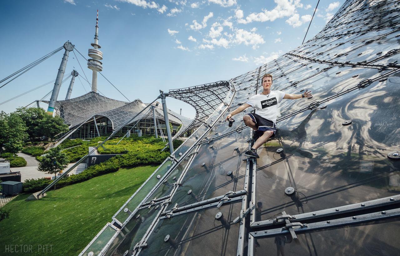 Day Munich Munich, Germany München No People Olympiapark München Olympiapark München Olympic Olympic Park  Outdoors Power Line  Sky Travel
