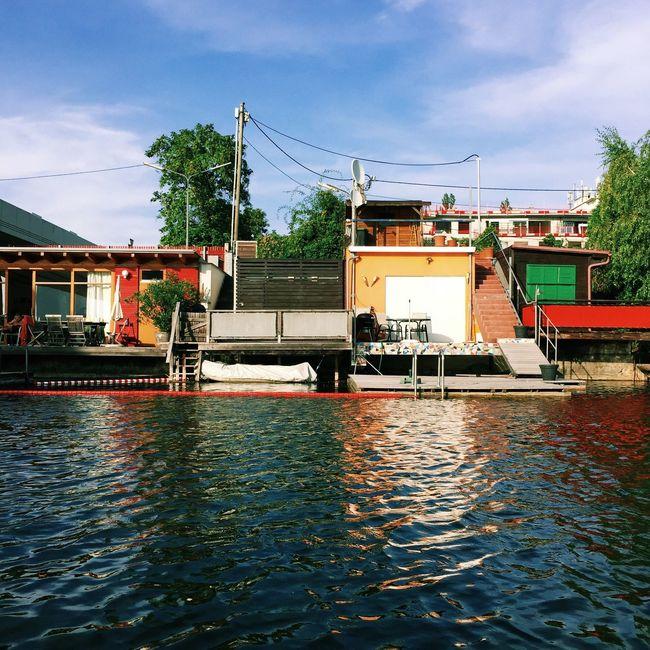 Danube River Chalets Vscocam Summer Learn & Shoot: Layering