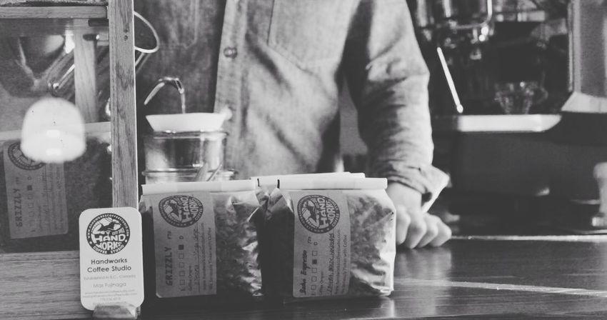 Coffee Barista Bw_collection Blackandwhite