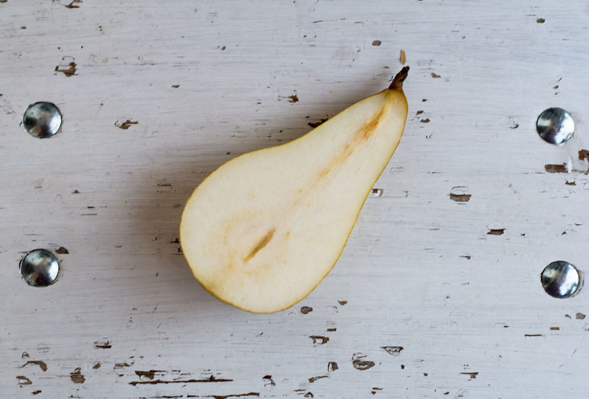 Banana Close-up Day Directly Above Food Food And Drink Freshness Fruit Healthy Eating High Angle View Indoors  Leftovers No People Pear Bio Fruits