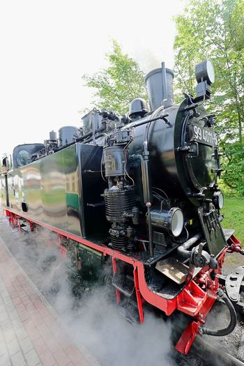 Day Locomotive Mode Of Transport No People Outdoors Rail Transportation Rasender Roland  Ruegen Island Smoke - Physical Structure Steam Train Train - Vehicle Transportation