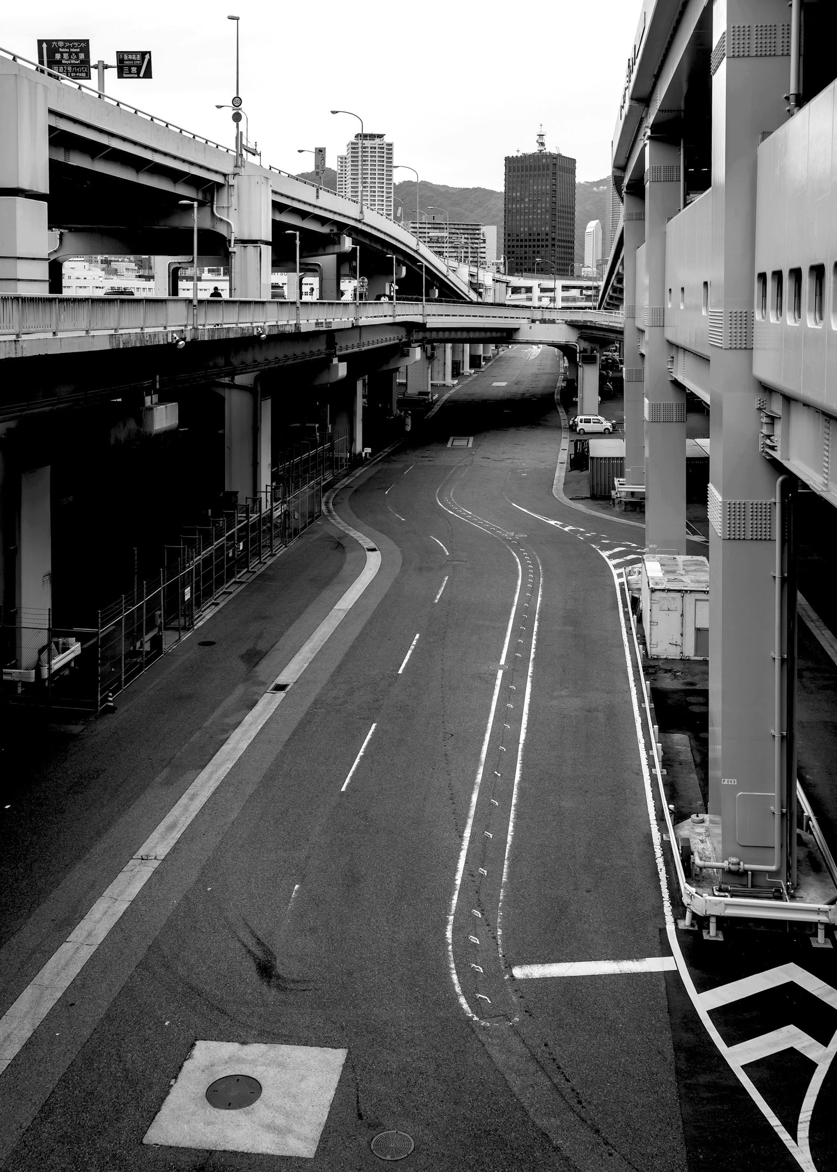 city, transportation, building exterior, architecture, built structure, outdoors, day, text, no people, bridge - man made structure, connection, sky, urban road