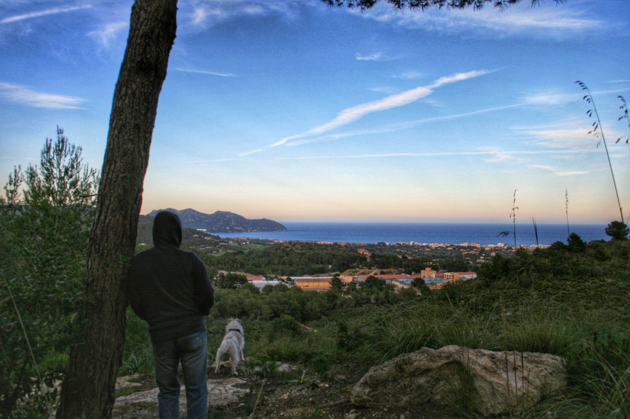 View over Cala Bona and Cap d'es Pinar. Landscape Landscape_Collection Evening Evening Sky Mallorca SPAIN Walking Around Walking Around Taking Pictures Taking Photos Jack Russell Parson Russell Terrier Parsonjackrussell Check This Out Landscape_photography