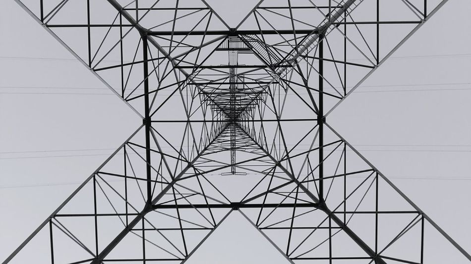 Electricity  Cable Symmetry Power Supply Connection Fuel And Power Generation Electricity Pylon Business Finance And Industry No People Concentric Sky Technology Outdoors Day Enjoy The New Normal New On Eyeem