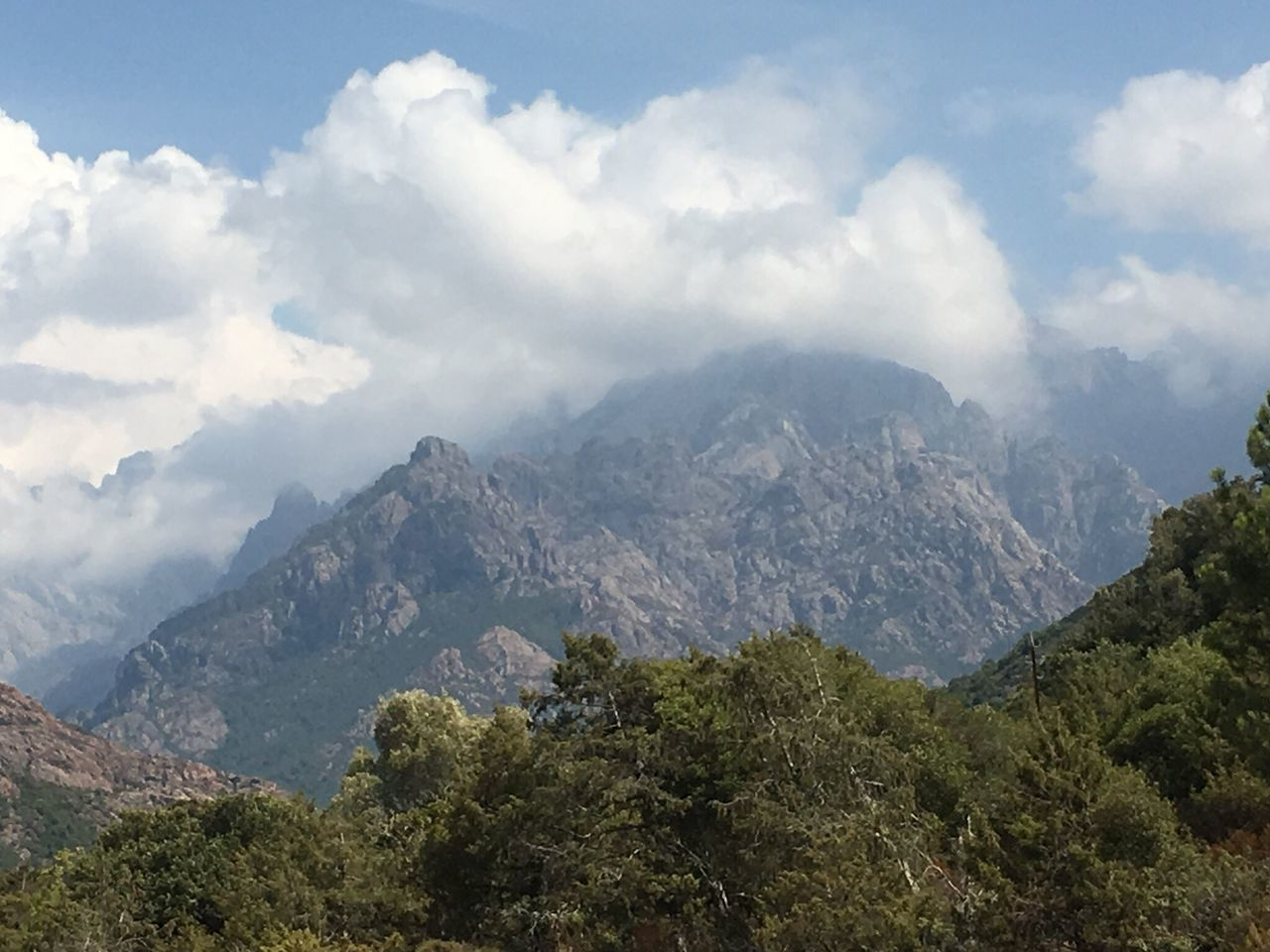 Mountain Sky Nature No People Scenics Beauty In Nature Possibilities  Outdoors Day Corse Corsica