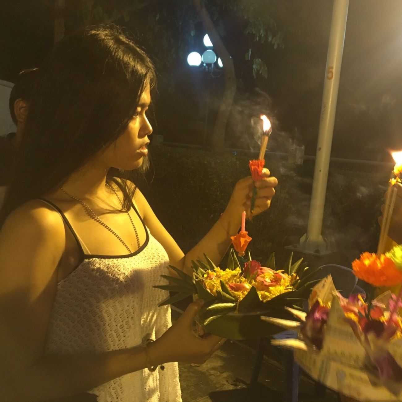 I wish for Loykrathong Festival Krathong Loykratong Fullmoon Thaifestival Thaiculture Beautiful Day Alotofpeople Fun Mlife Lifestyles Enjoying Life