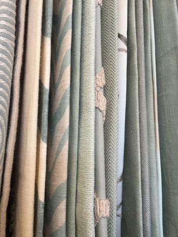 Hanging fabric samples EyeEm Selects Backgrounds Curtain Full Frame Textile Fabric Variation Retail  Indoors  No People Close-up