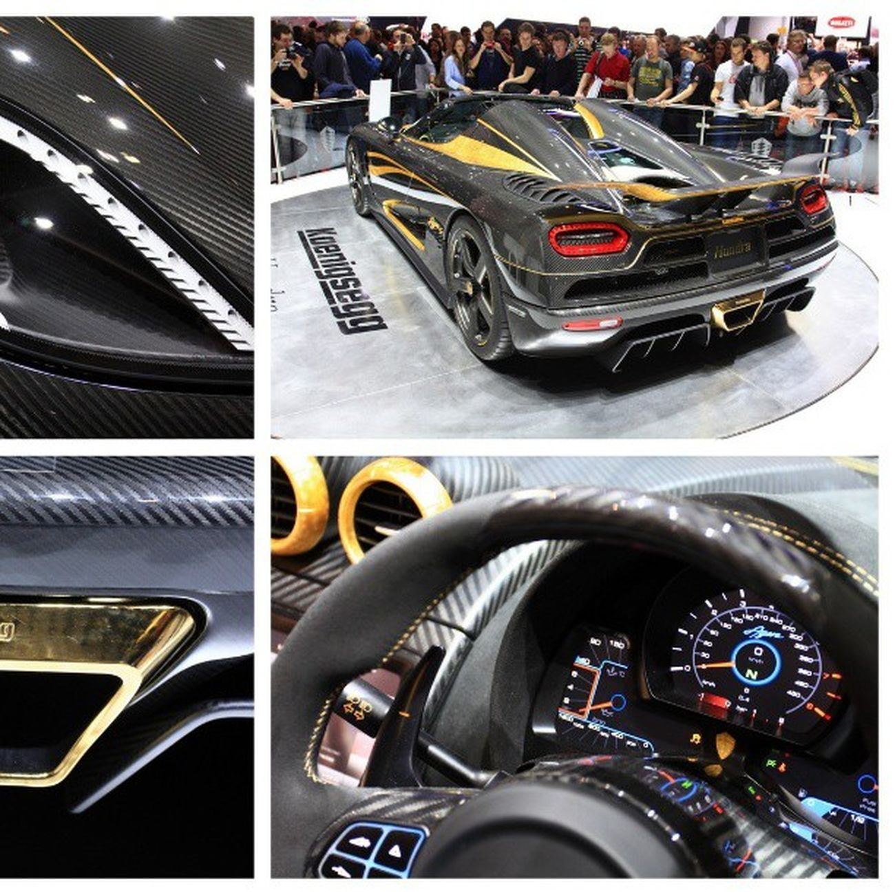 Hundra Koenigsegg Agera  Gold carbon vip vipaccess