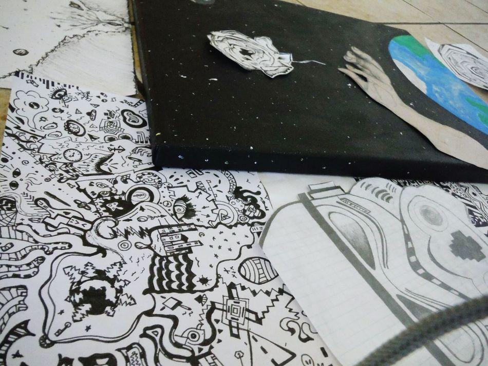 Benjiart Art, Drawing, Creativity Sharpieart Flower Art Getting Creative ArtWork