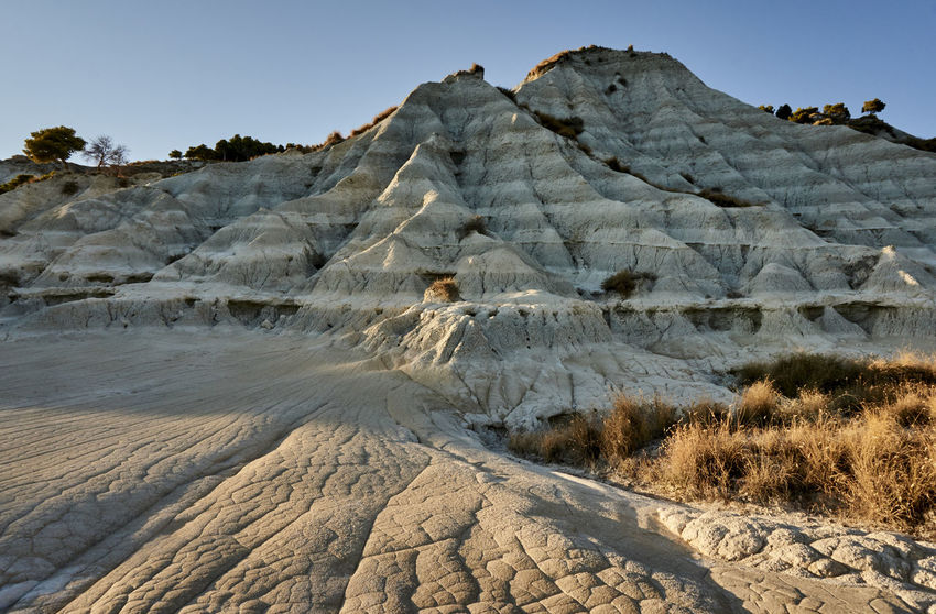 Arid Calabria Clay Desert Dramatic Landscape Eroded Extreme Terrain Geology Italy Majestic Marina Mediterranean  Mountain Mountain Range Nature Non-urban Scene Outdoors Palizzi Palizzimarina Physical Geography Remote Rock Formation Rough Scenics Wide
