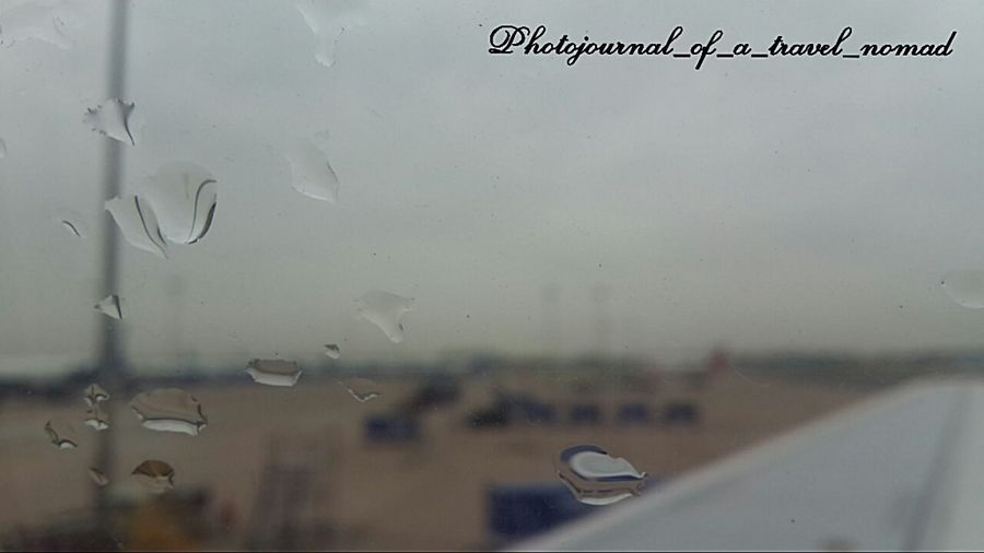 The identity of droplets ... Starting A Trip The Purist (no Edit, No Filter) Airport Travelingram The Traveler - 2015 EyeEm Awards Traveller_india EyeEm Gallery Digital Nomad Travel Photography Mesmerising Sky_scapes