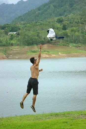 Water One Person Bird