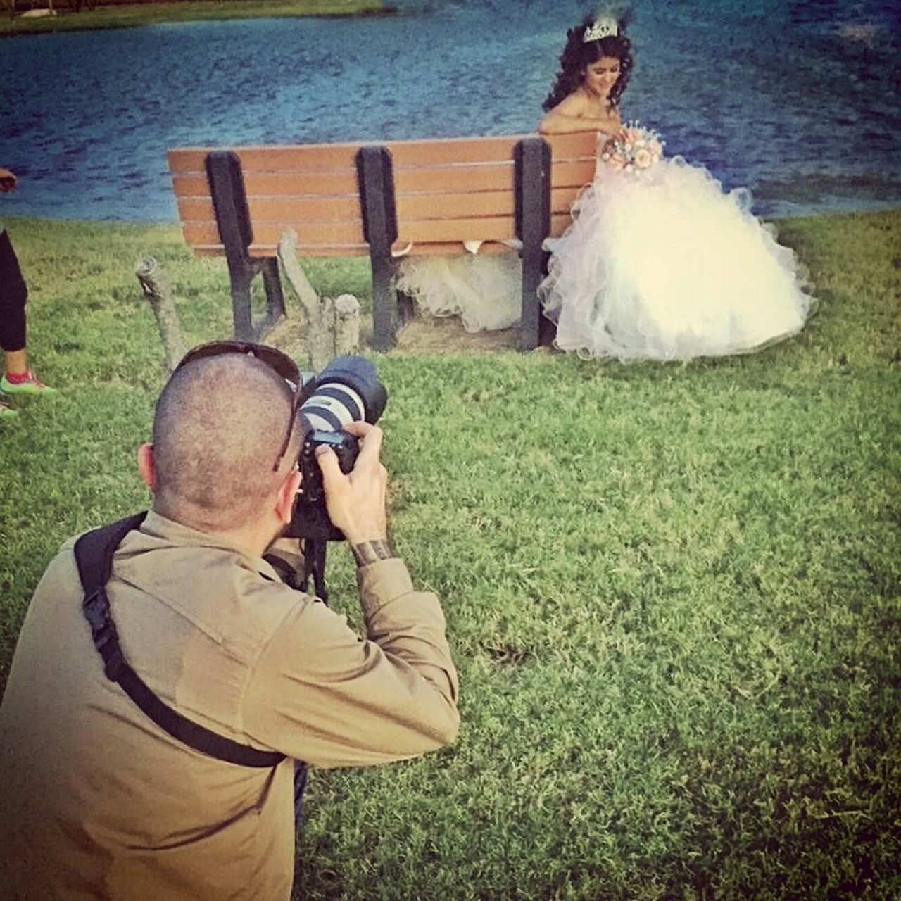 Buquet Becoming A Woman Celebration Birthday Quinceañera Shoes Behind The Lens Behind The Scenes Photographer Happy Birthday! Freelance Life