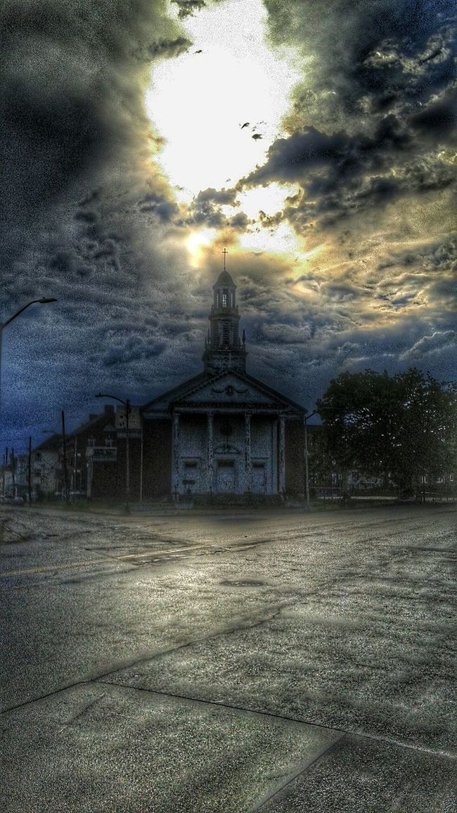 Taken right after a brief but intense Thunderstorm Check This Out Cityscape Hello World Discover Your City Newbedford Massachusetts Nbma EyeEm Best Shots Sky And Clouds