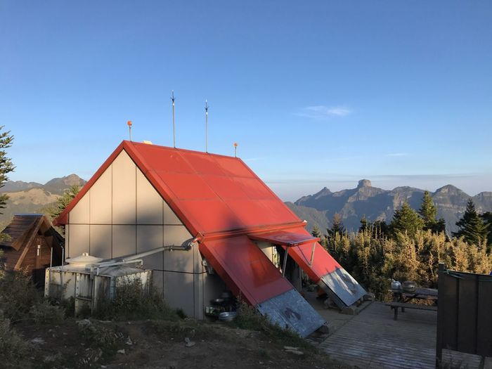 Tent Architecture Outdoors Landscape Built Structure Camping Day Nature Shelter No People Sky Building Exterior Mountain Beauty In Nature Taoshan Shelte First Eyeem Photo