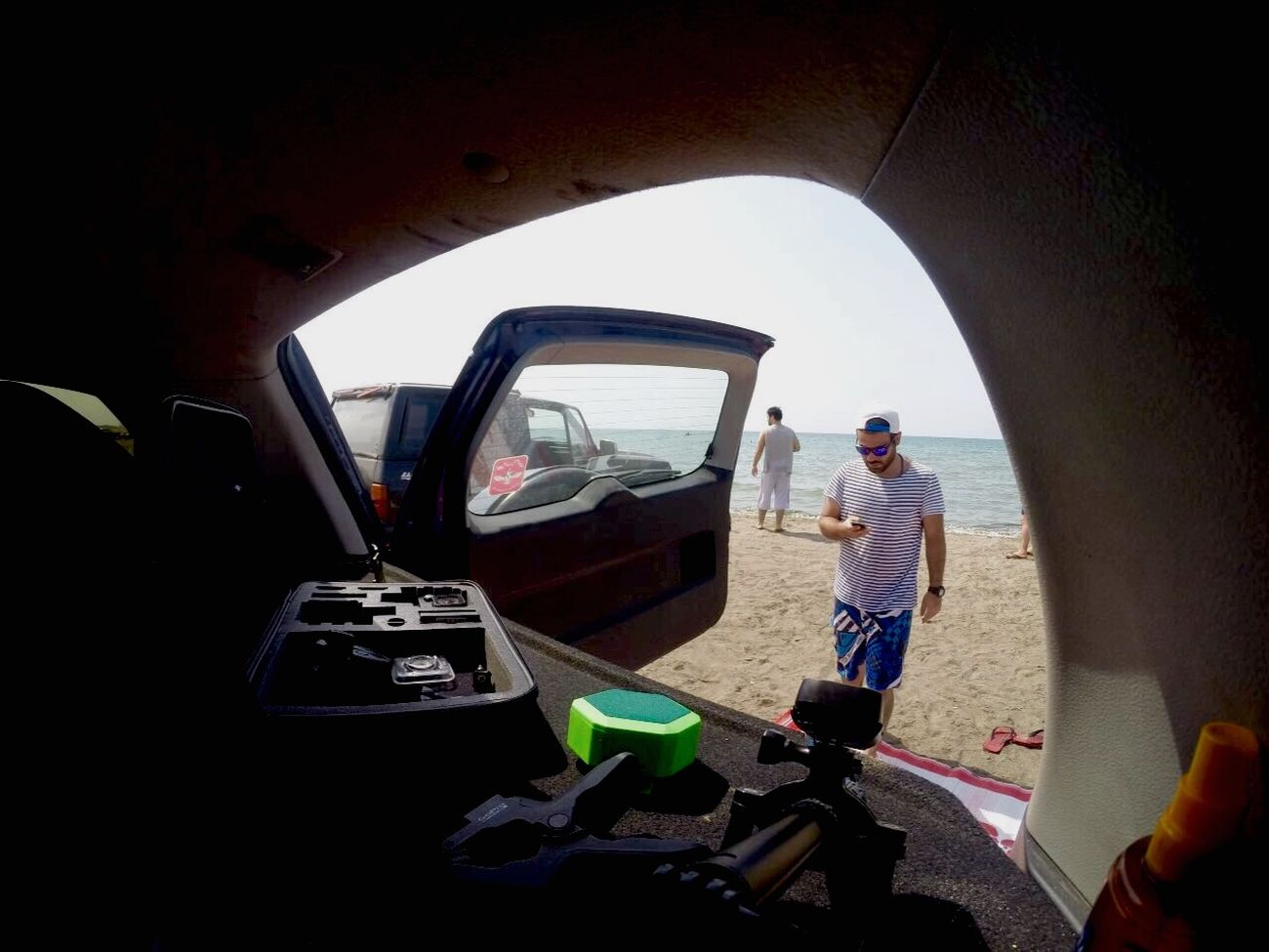Beach Chilling Summer Summertime GoPrography Goproiran