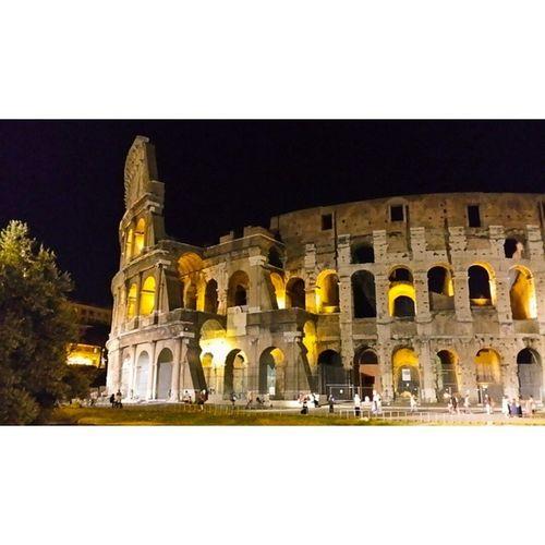 Rom Roma Kolosseum Night Summer