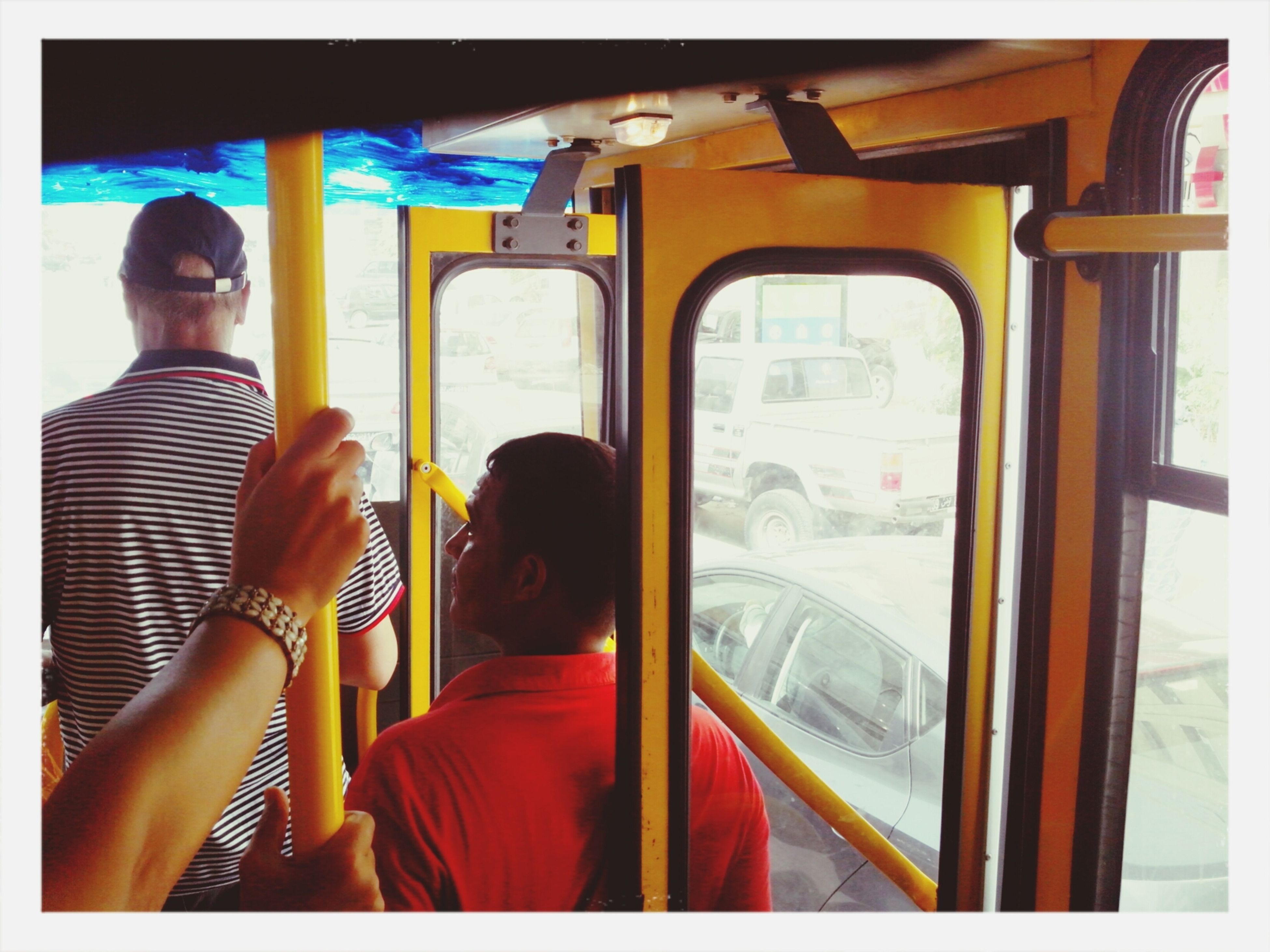 No Comment In The Bus Circulation