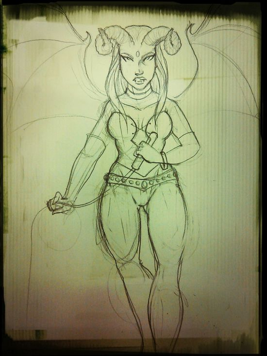 Just a sketch... Art, Drawing, Creativity Dungeons & Dragons character
