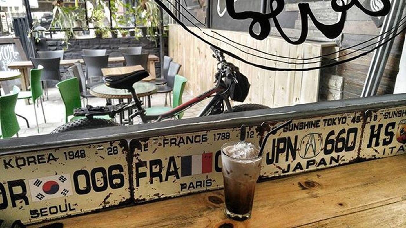 Bicycle Fatbikes Fatbike Mochaccino Coffee Coffeetime Val  2015  LG  G4 LGG4 LG G4 😚