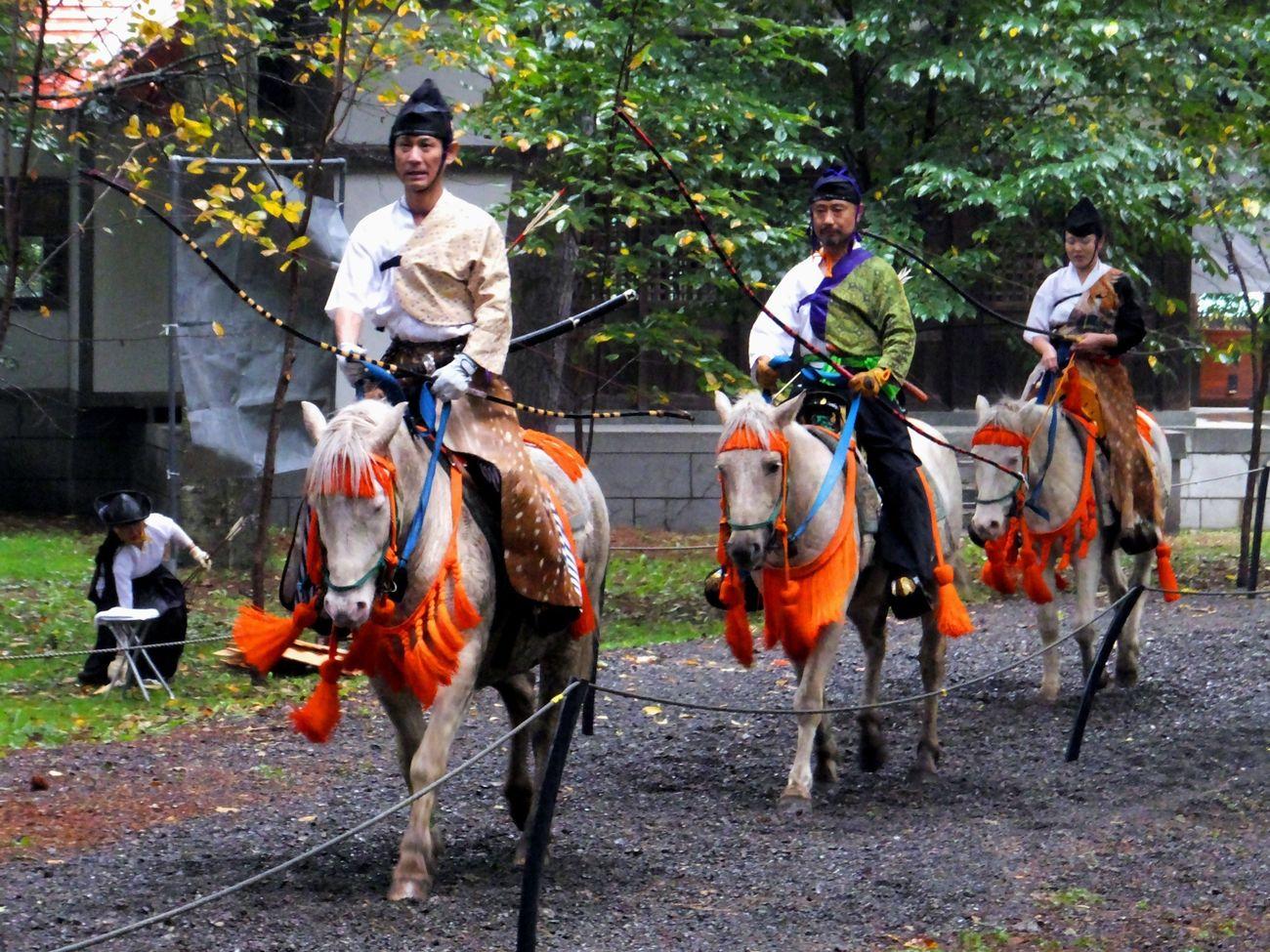 流鏑馬(其の肆) Yabusame Archery Horse Culture