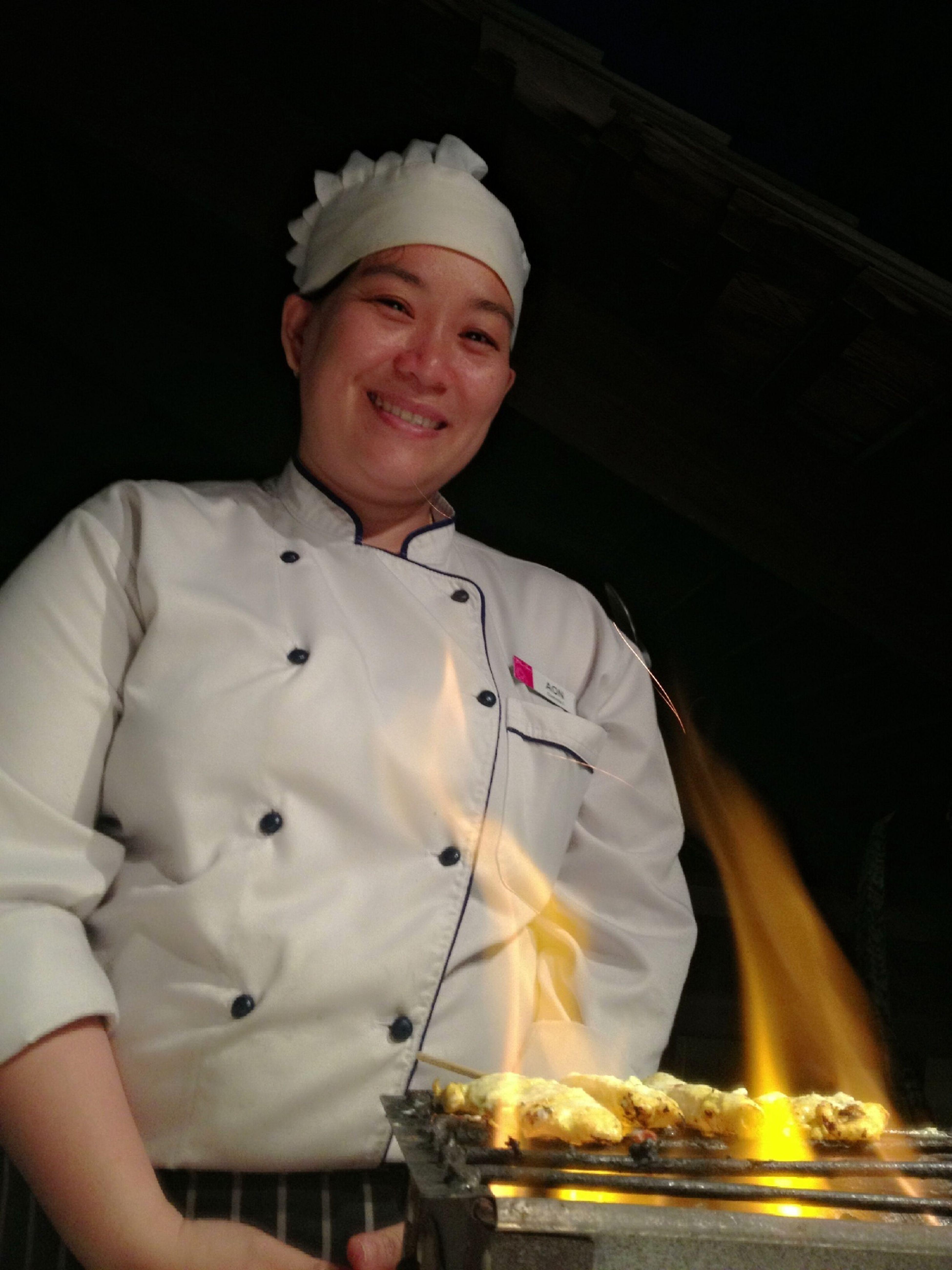 Big Smile on Fire Food
