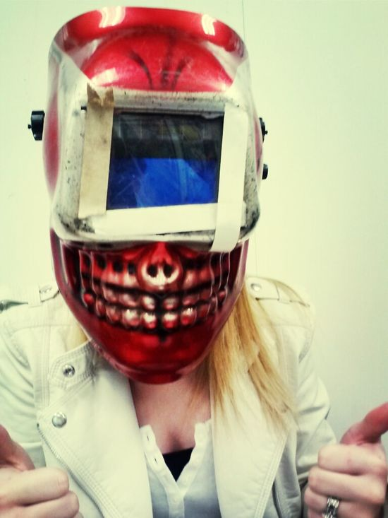Welding masks are cooool