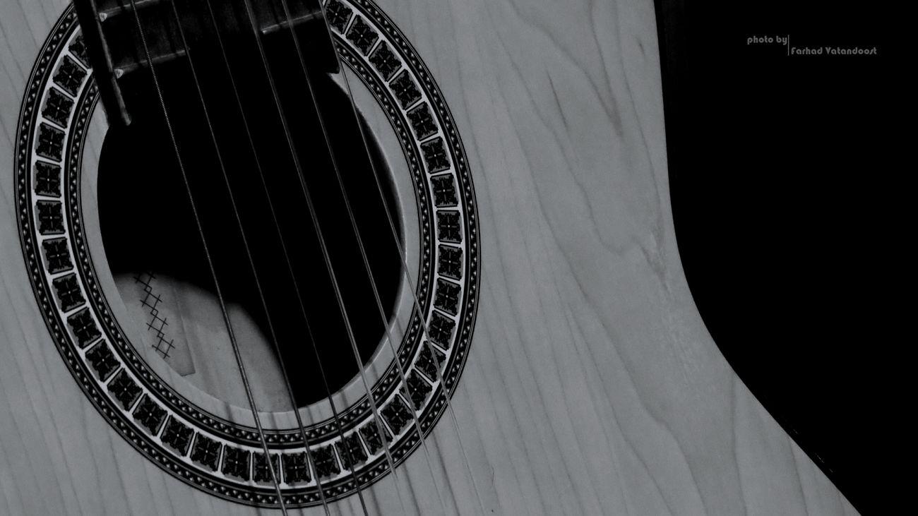 Guitar Blackandwhite Iranian_photography Music گیتار سیاه_سفید ایران موسیقی Canon Sx50 Canon