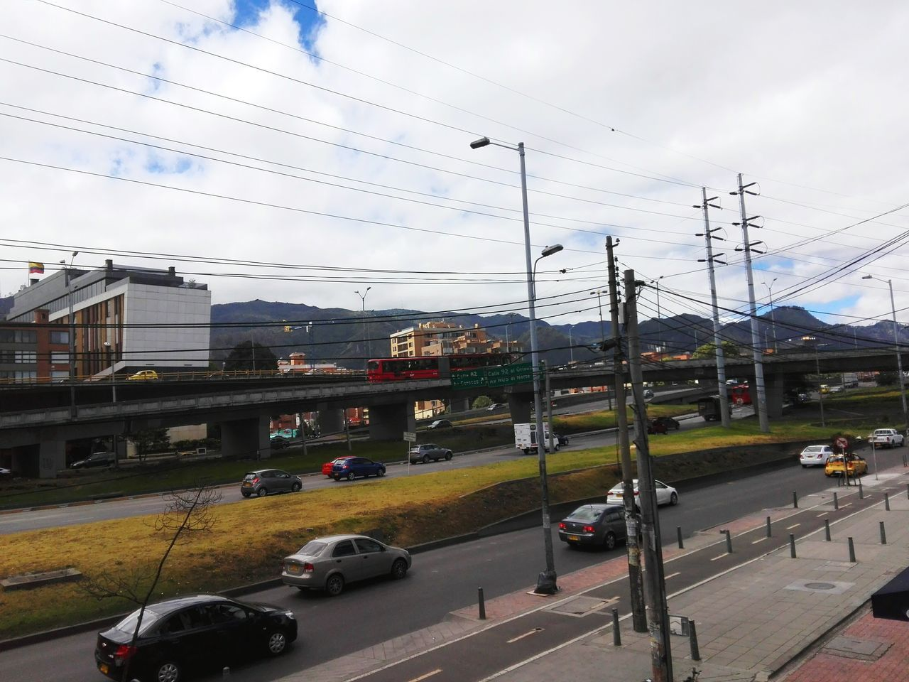 Street Photography Car Puentes Bogotá