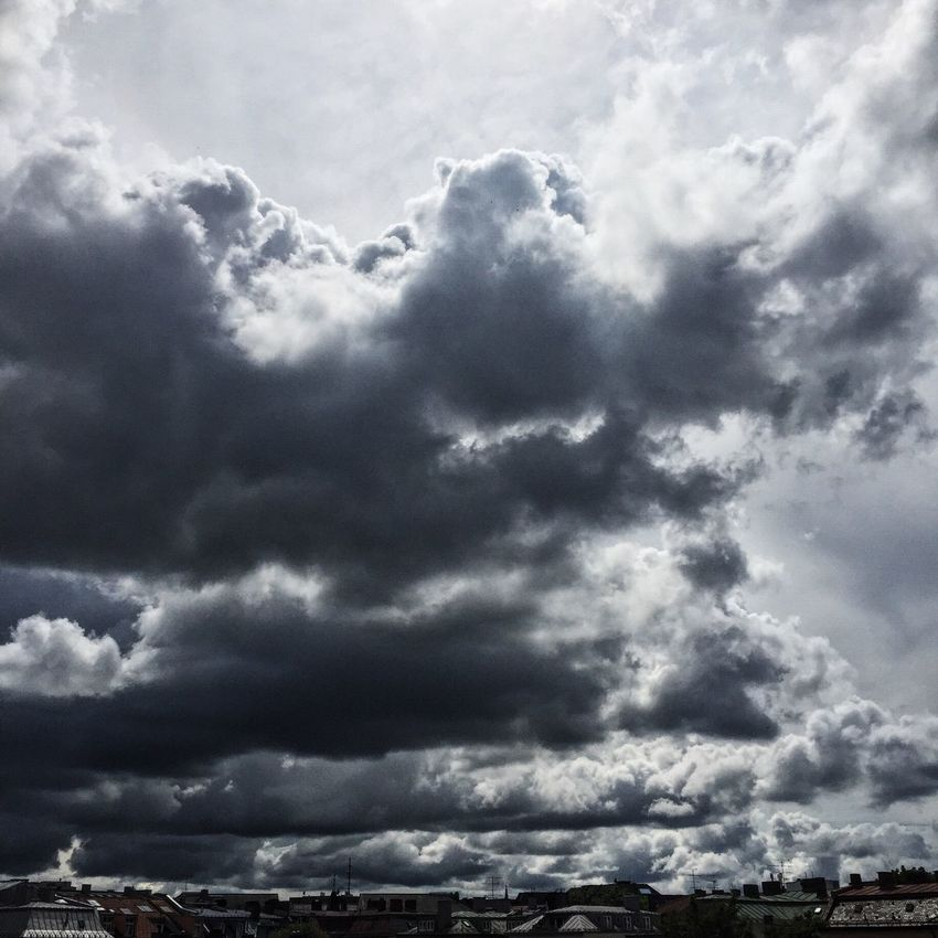 Thunderstorm Approaching MUC Munich Storm Cloud