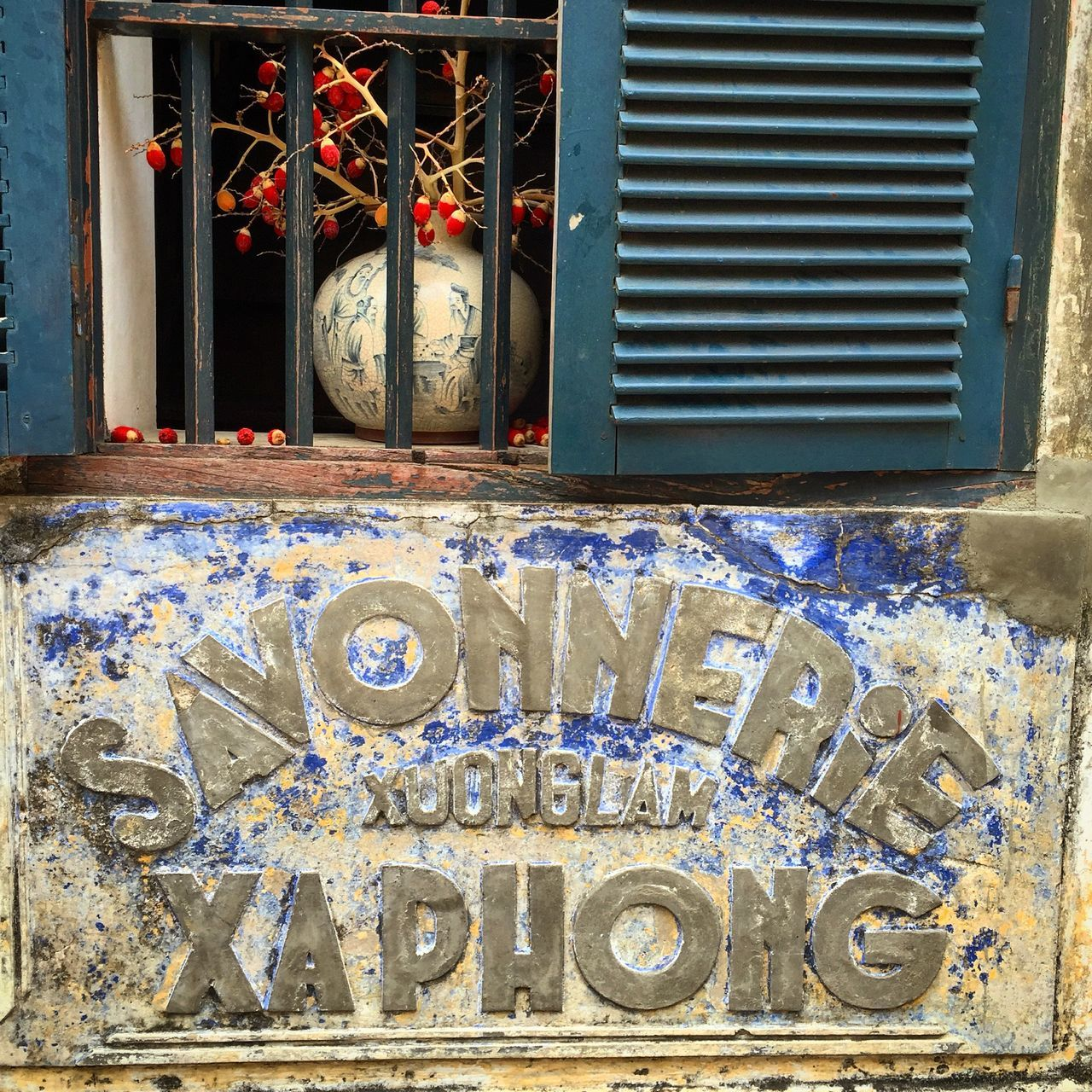 Window in Hoi An, Vietnam Architecture Building Exterior Close-up Hoi An Old Text Typography Vietnam Window EyeEmNewHere