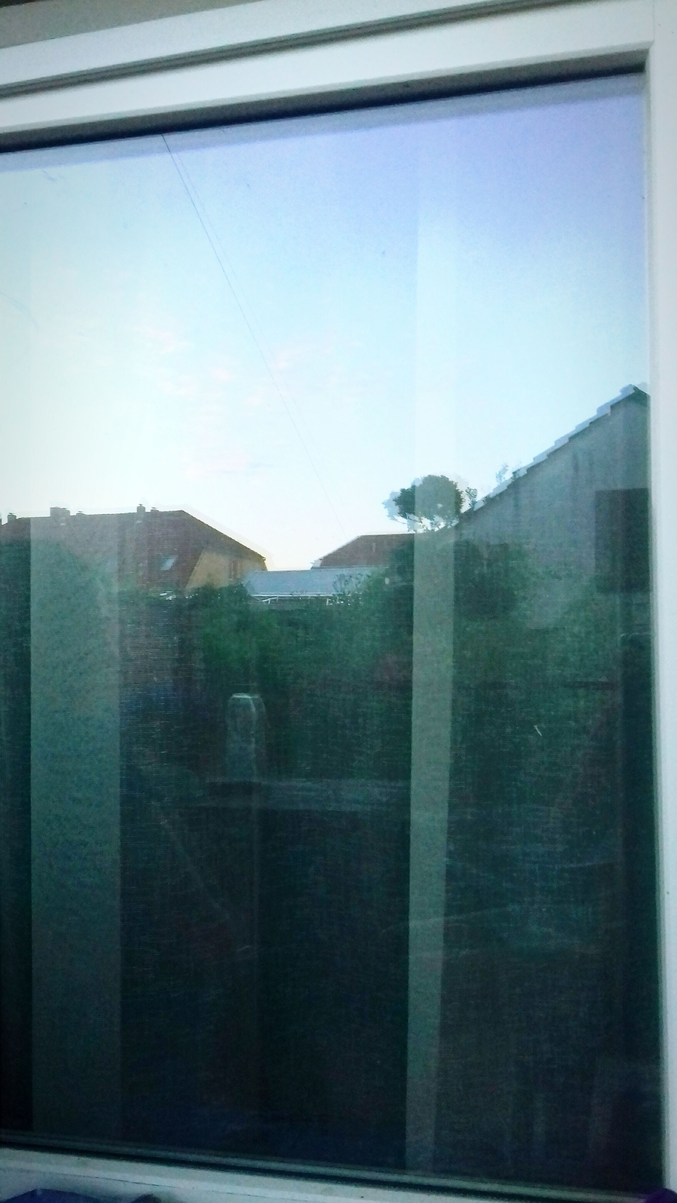 window, glass - material, reflection, building exterior, architecture, built structure, no people, day, sky, outdoors, city