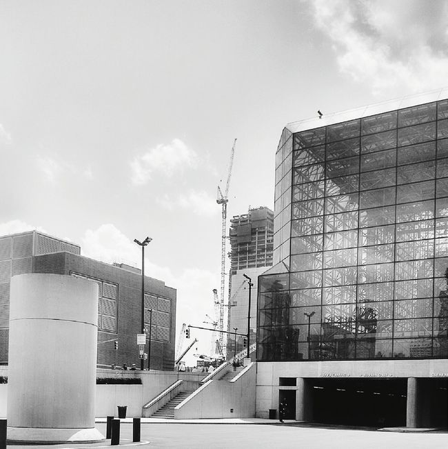 These Javtis Center Windows look good in Blackandwhite ... Glass_collection AMPt - My Perspective