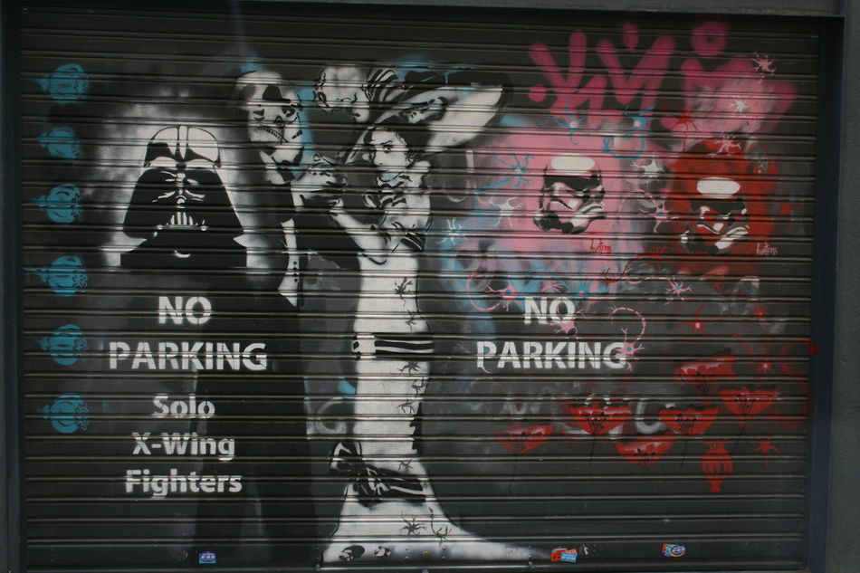 Art ArtWork Dark Side Darth Vader Darthvader Graffiti Graffiti Wall Graffitiart Graffitiporn No Parking No Parking Area No Parking Sign No Parking Signs Noparking Star Wars Starwars Street Art Street Artist Street Photography Streetart/graffiti Streetphotography X-wing Xwing Xwingfighter Xwingpilots