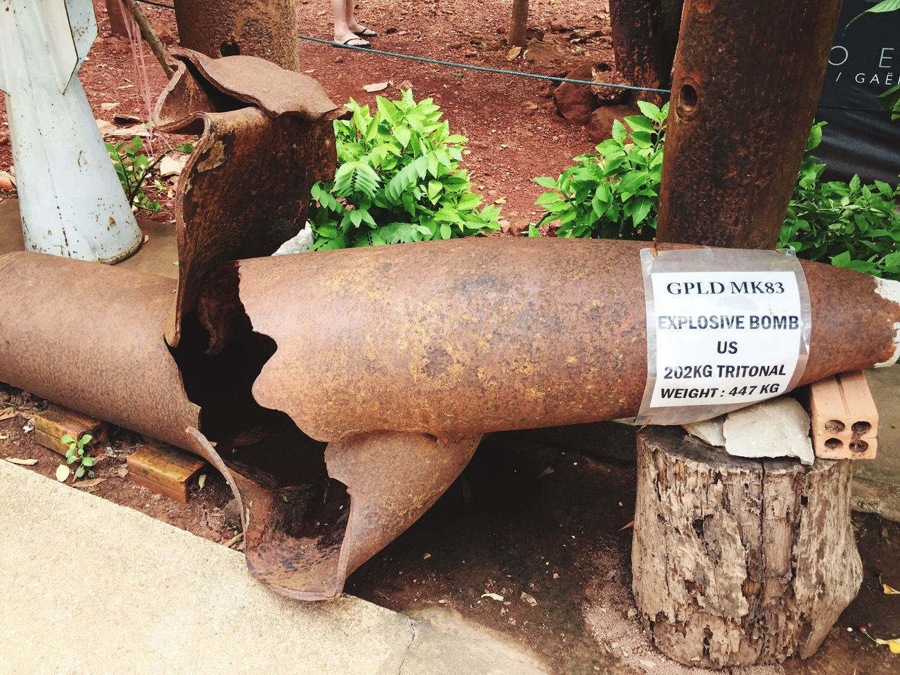 Landmine collected and deactivated in Siem Reap Alllifematters Love