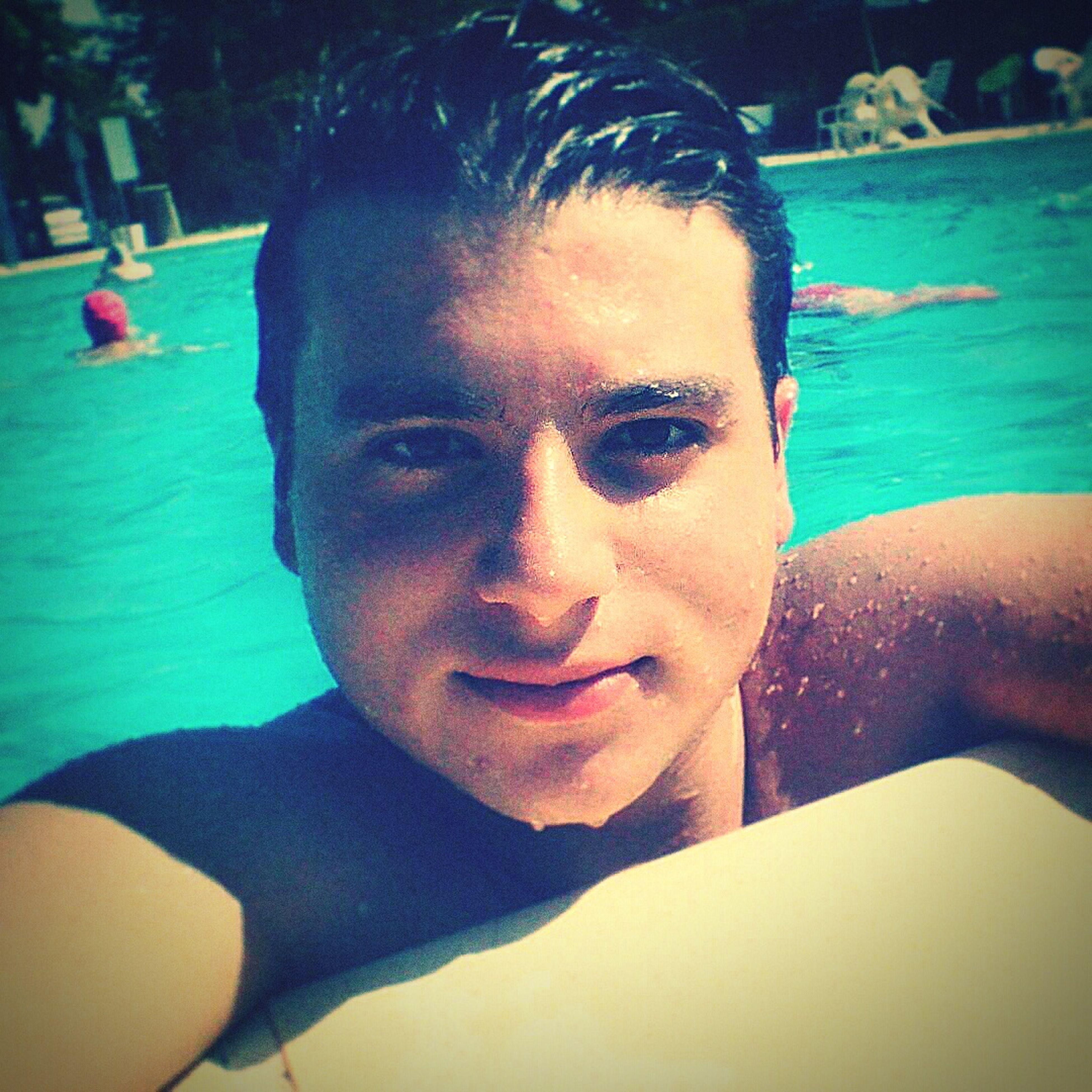Estate 2014 Me Boy Swimming Pool Pool Sea Summer Estate Italy