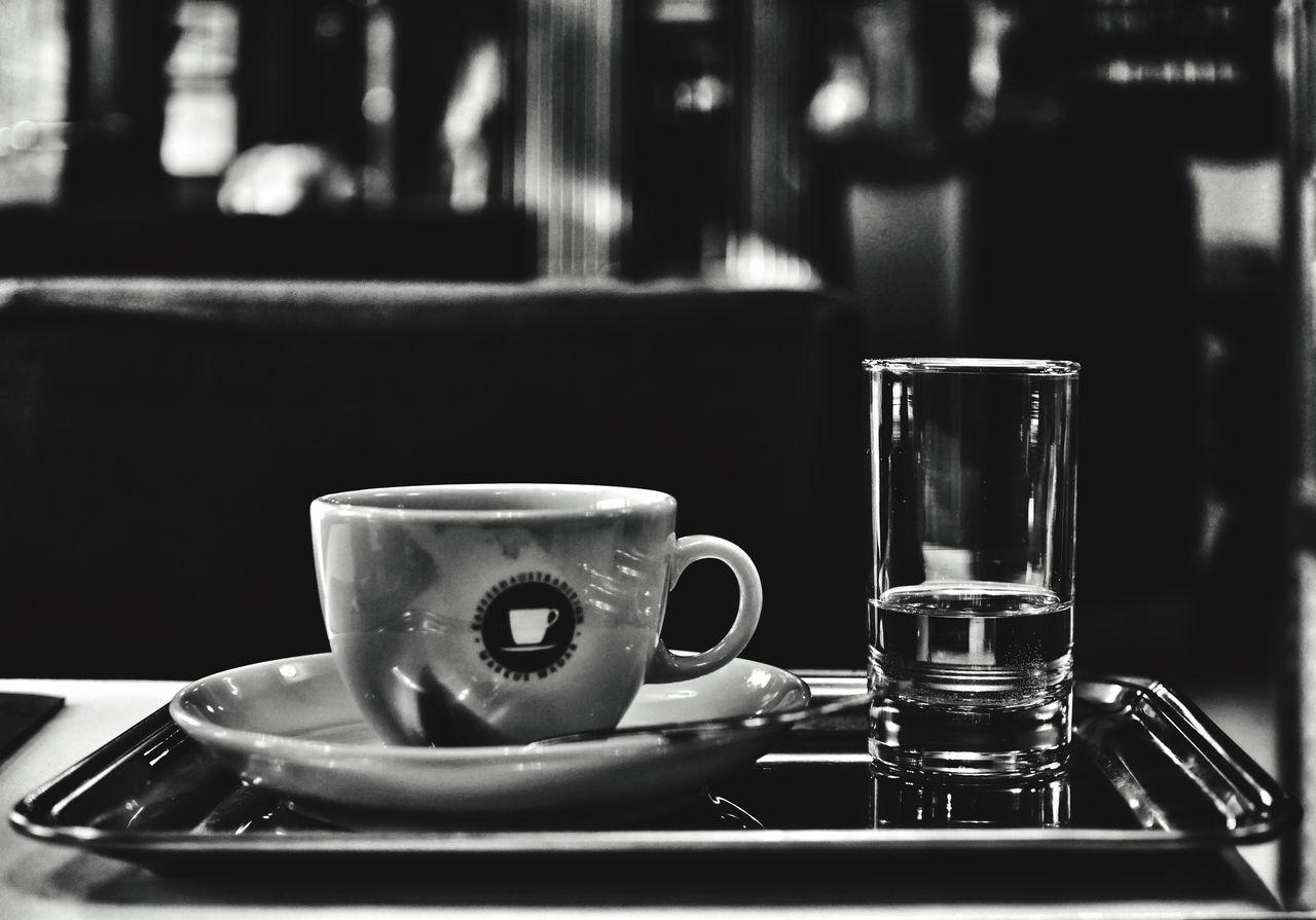 Finished... Coffee Coffee Break Coffeehouse in Austria Taking Photos Blackandwhite Tadaa Community