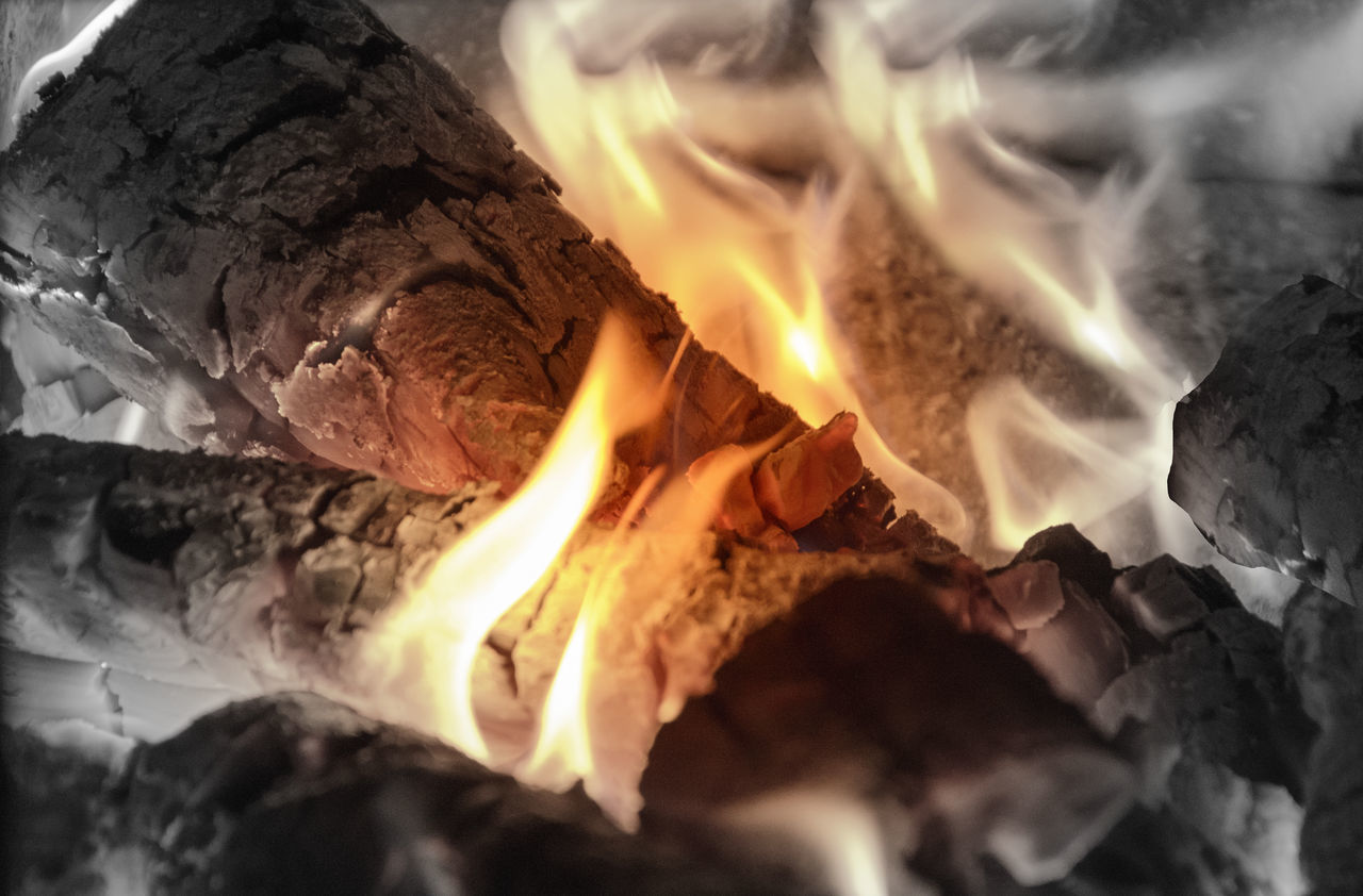 Beautiful stock photos of fire, Burning, Close-Up, Fire - Natural Phenomenon, Firewood