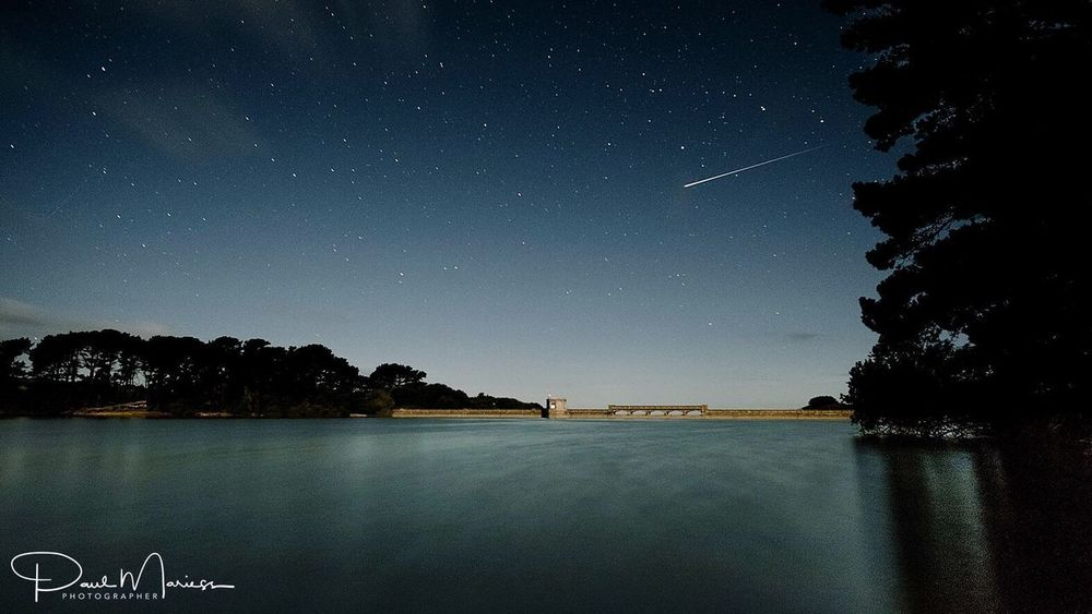 Star - Space Night Beauty In Nature Clear Sky Star Field Tranquil Scene Landscape_Collection Eyem Best Shots Guernsey Eye4photography  Long Exposure Nightphotography Shooting Stars Meteor