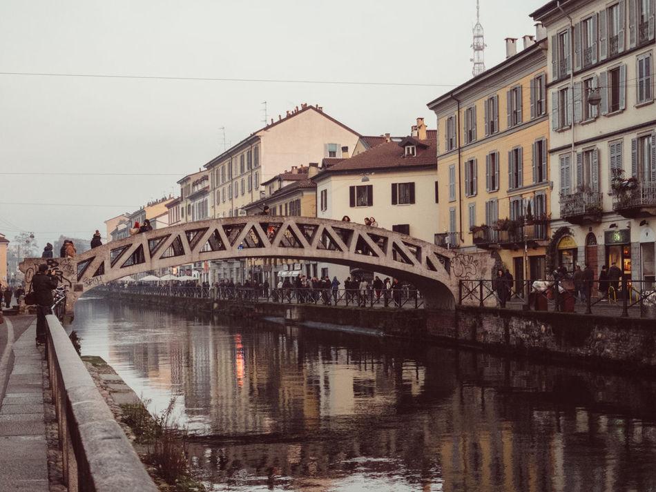 Beautiful stock photos of milan, Architecture, Bridge - Man Made Structure, Building, Building Exterior