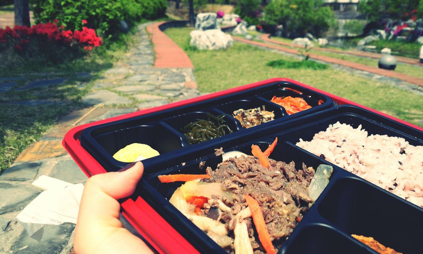 점심 피크닉 함께 하실래예~ Picnic Lunch 도시락 화랑공원