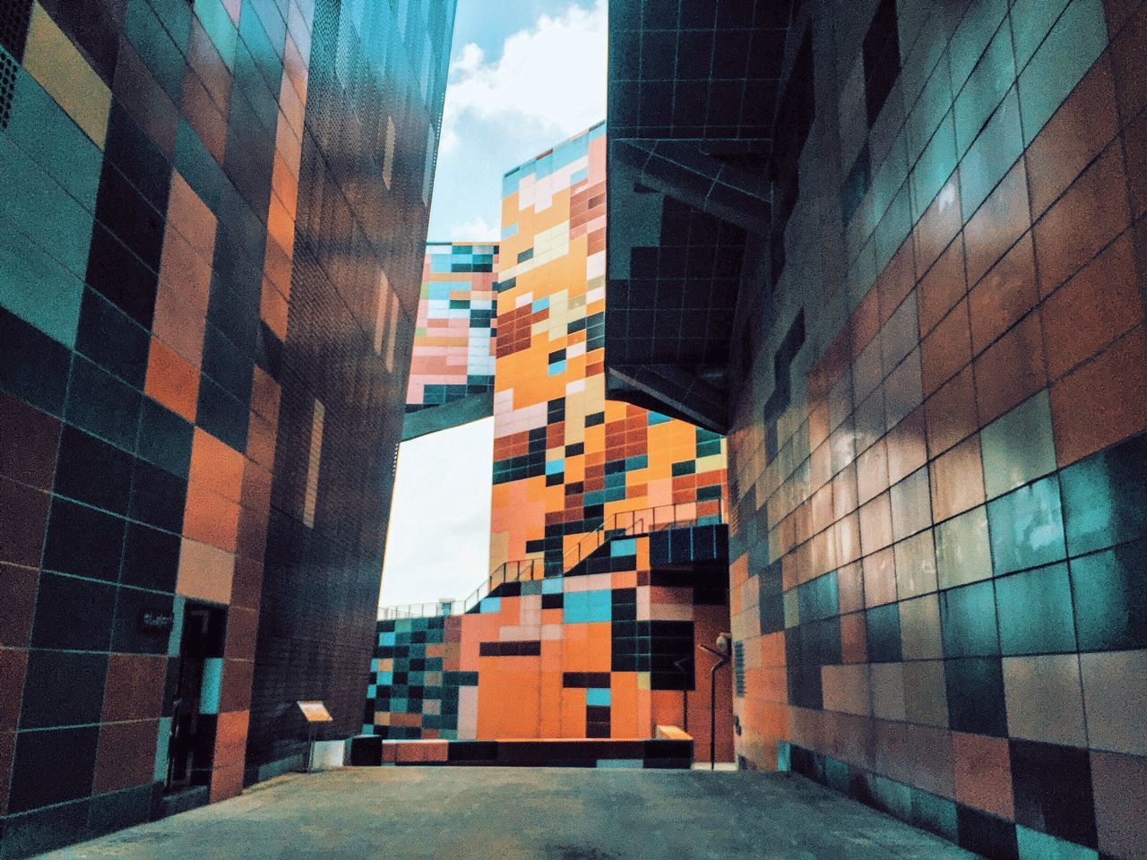 Architecture Architectural Detail The Architect - 2016 EyeEm Awards Colors Colorful Wall Wall - Building Feature